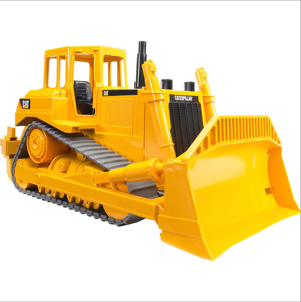The buldozer that crushed the Indac toolbox