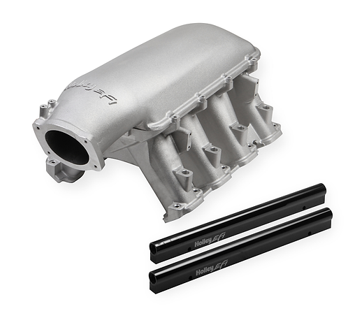 Holley EFI LT1 High-Ram intake 95 mm throttle opening, with port injection