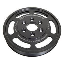 15% OVERDRIVE LT4 LOWER SUPERCHARGER PULLEY FOR USE WITH ATI BALANCERS ONLY