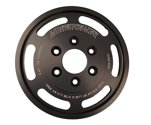 10% OVERDRIVE LT4 LOWER SUPERCHARGER PULLEY FOR USE WITH ATI BALANCERS ONLY