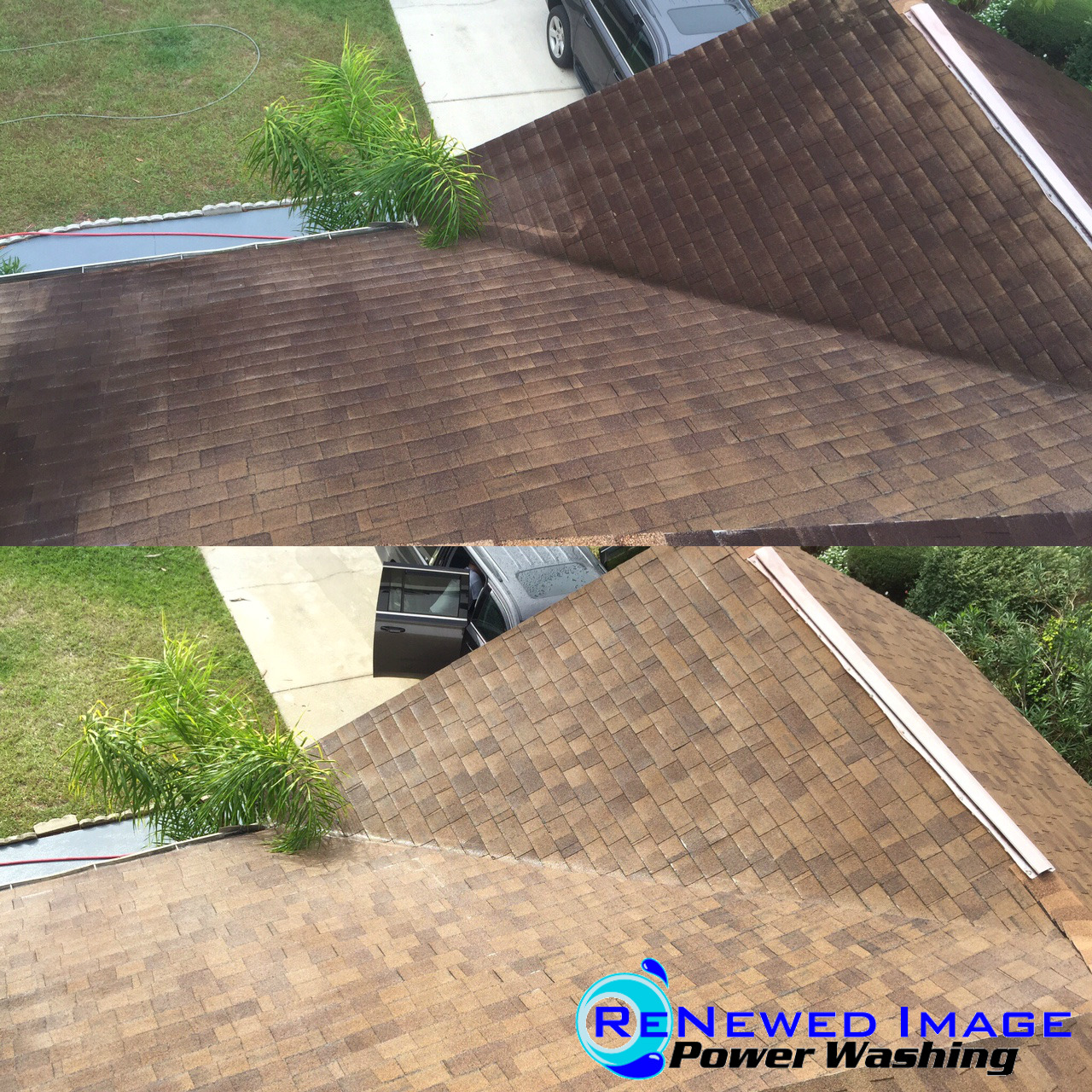 tampa low pressure roof cleaning