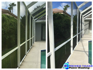 Pool Cage Cleaning - Wesley Chapel, FL