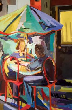 Umbrella Table (sold)