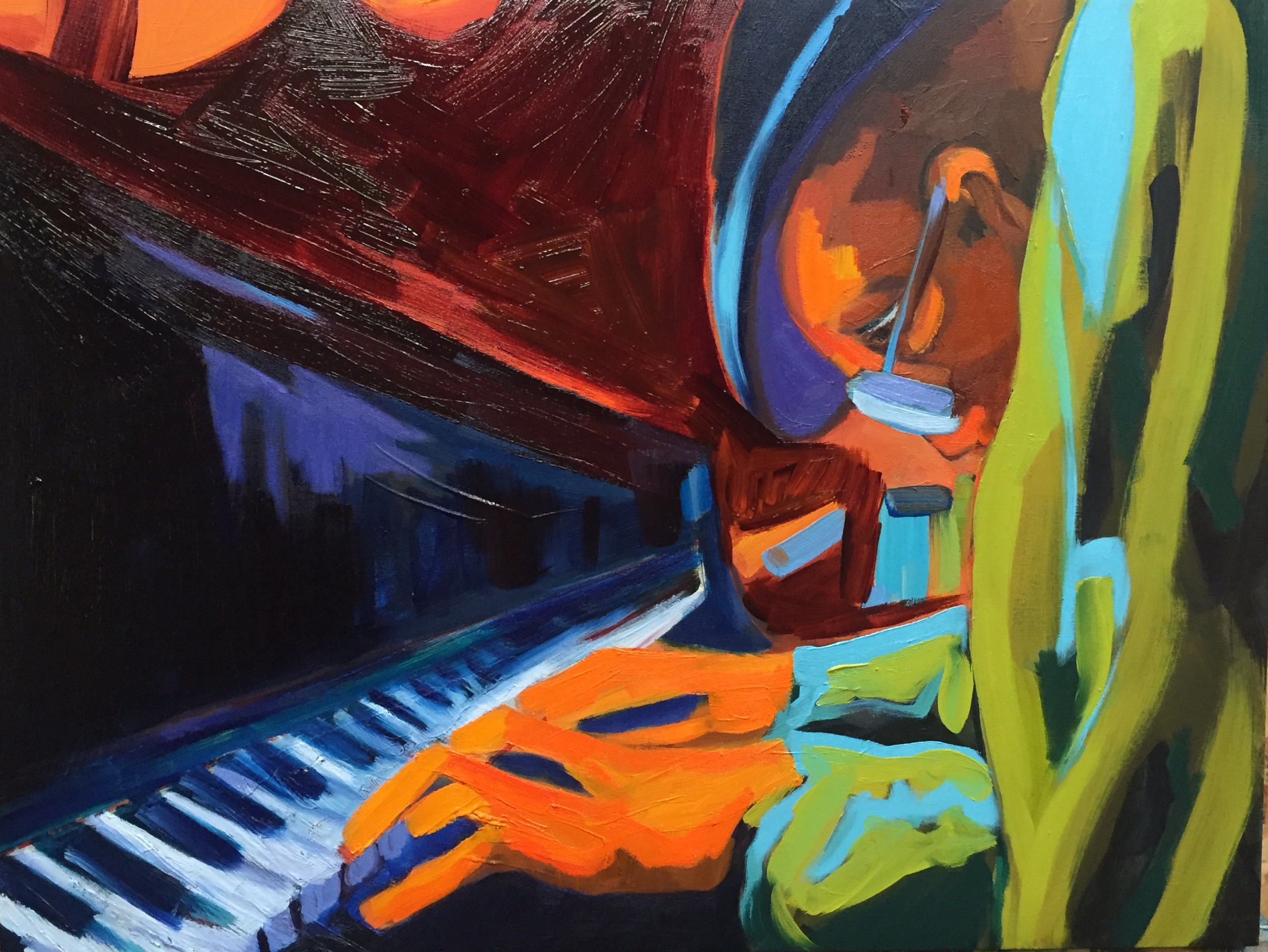 Piano Man (sold)