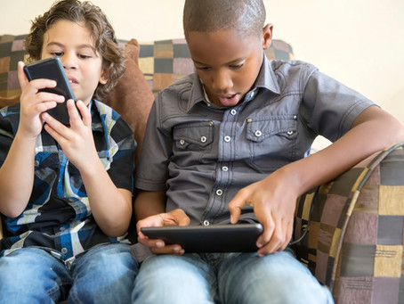 Monitoring Your Child's Posture When Using Their Digital Devices
