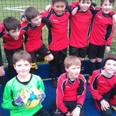 Third place for Year 3/4 Boys