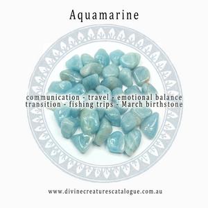 Aquamarine Healing Gem Stones