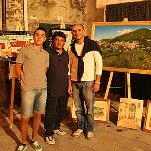 Mostra collettiva nel 2010 a Sicilì (Salerno)