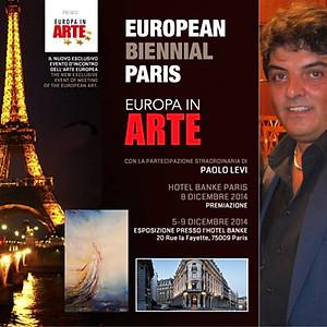 Premiato alla European Biennale Paris – Europa in Arte
