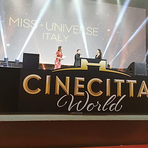 MISS UNIVERSE ITALY 2019 - CINECITTÁ - ROMA