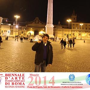 10° BIENNALE D`ARTE INTERNAZIONALE DI ROMA 2014 - ROMA (RM)