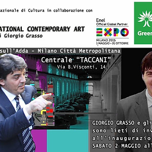 "INTERNATIONAL CONTEMPORARY ART ""EXPO 2015″ – TREZZO SULL'ADDA (MI)"