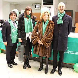 Mostra personale presso la Banca BNL per Telethon - Milano (MI)