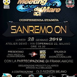 CONFERENZA STAMPA SANREMO ON 2019 - MILANO (MI)