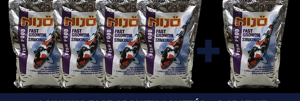Nijo Promo Pack Fast Growth Sinking