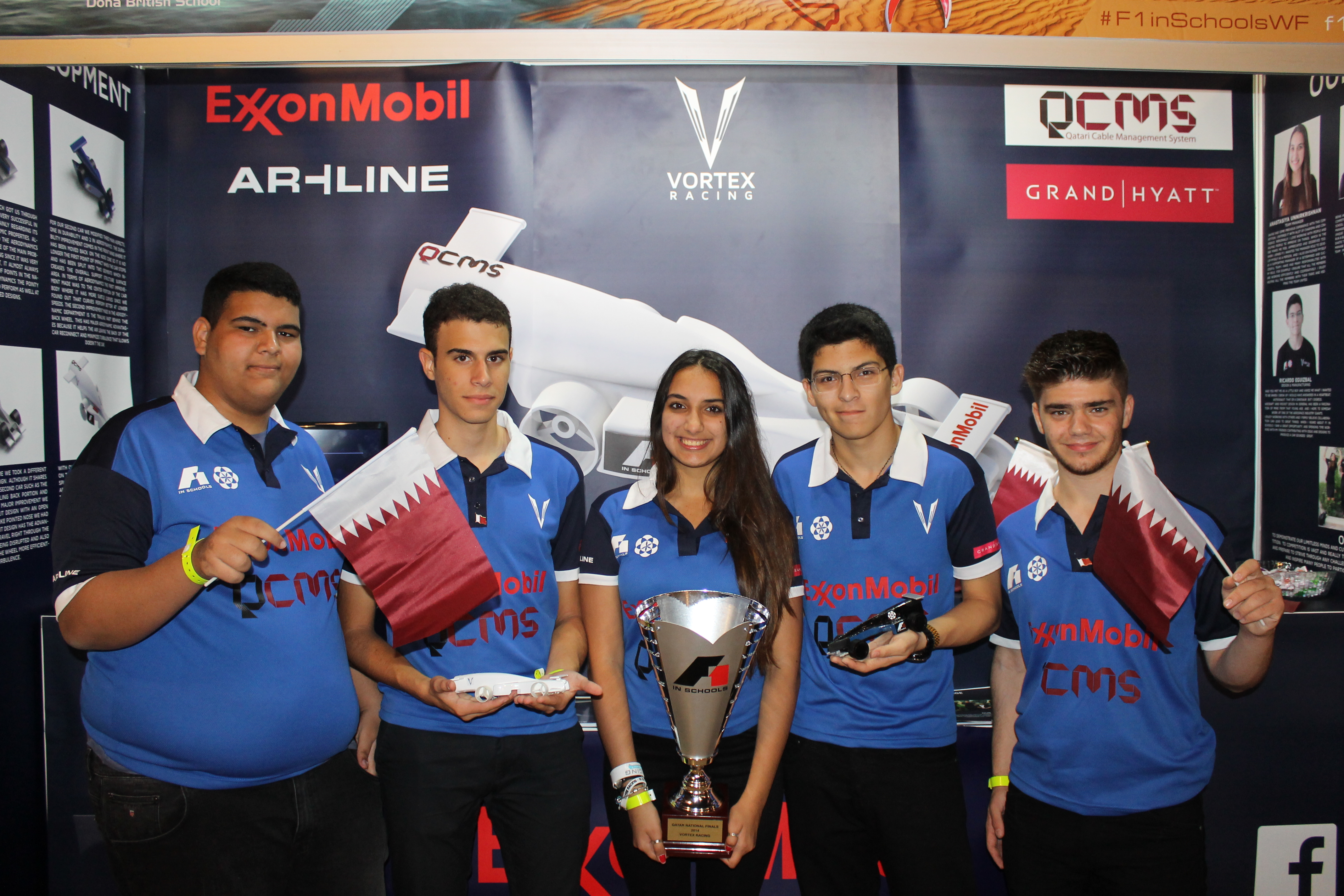 Vortex Team in Abu Dhabi 2014