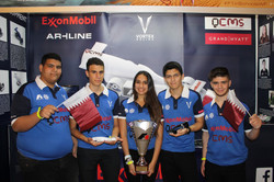 Vortex Team in Abu Dhabi 2014