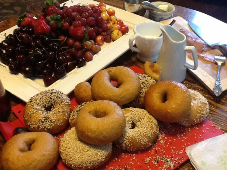 Saturday Morning Bagels