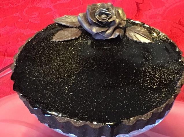 chocolate valentines tart