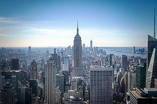 Manhattan Midtown Skyline with skyscrape