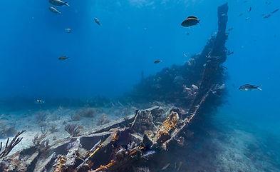 Underwater photo of the Benwood