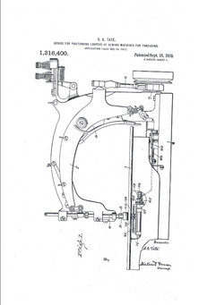 device for positioning loopers, 1917