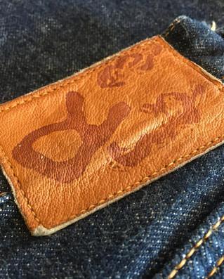 ジーンズシルエット変更|インシーム調整と縫製仕様