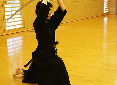 居合を始めたきっかけ 無双直伝英信流入門 女性剣士