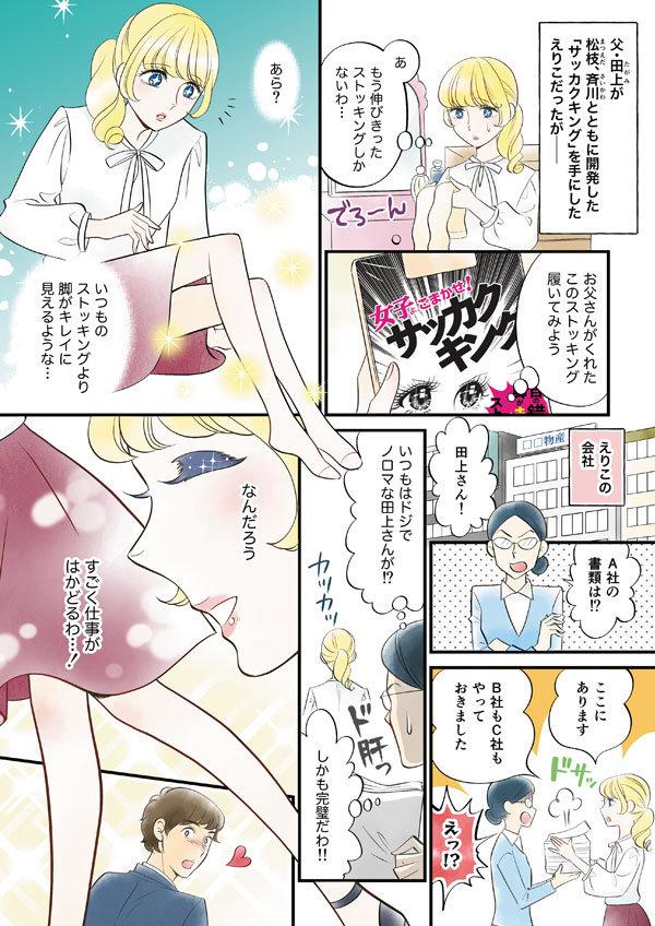 漫画サッカクキング03