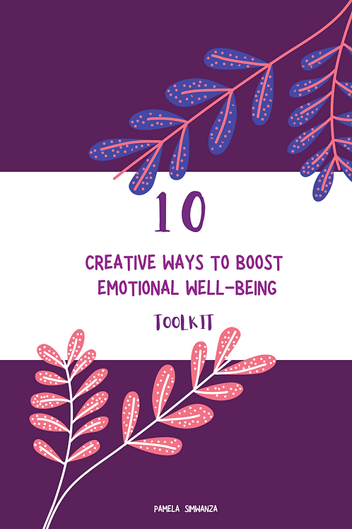 DIGITAL BOOK: 10 CREATIVE WAYS TO BOOST EMOTIONAL WELL-BEING