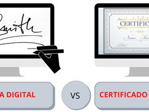 ¿Conoces las diferencias entre El Certificado Digital y la Firma Digital? Reprise te lo explica.