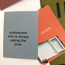 chewing the fat: play act cards