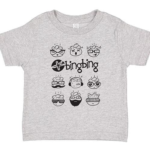 Bing Bing Toddler T-Shirt Gray