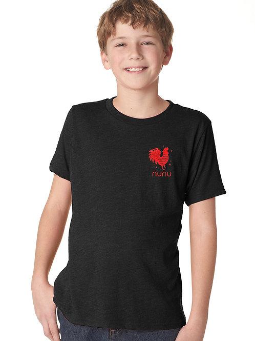 nunu Youth & Toddler T-Shirt Black