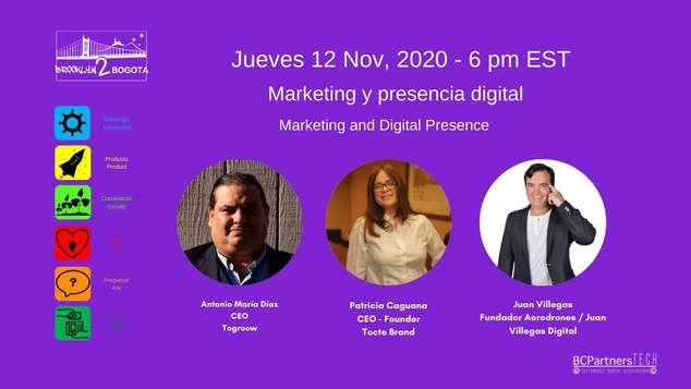 Marketing y Presencia Digital