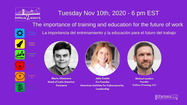 The importance of training and education for the future of work