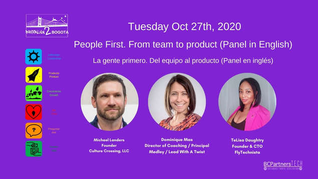 People First. From team to product (Panel in English)