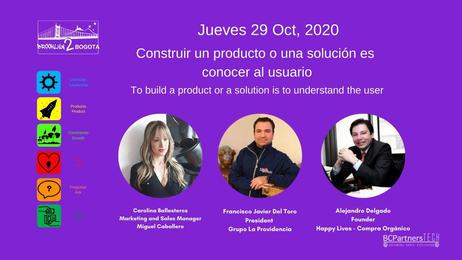 Construir un producto o una solución es conocer al usuario