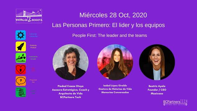 Las Personas Primero: El lider y los equipos