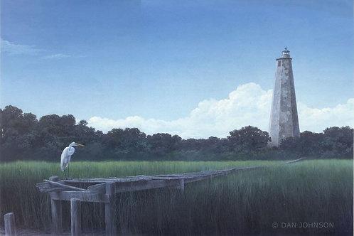Great Egret at Bald Head