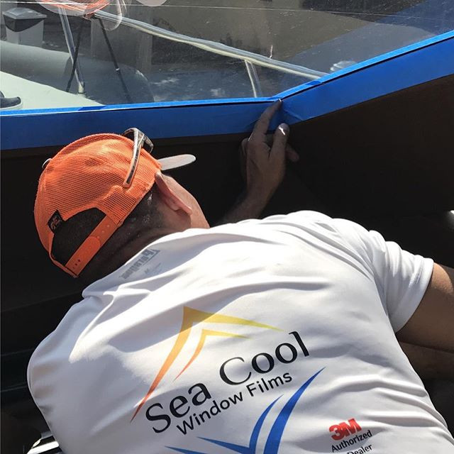 Front windshield installation of our 3M