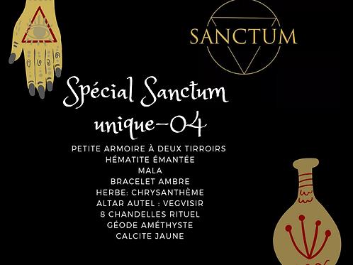 Spécial sanctum - unique 04