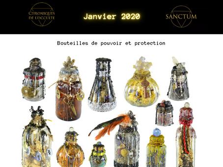 Janvier 2021 - bouteilles de pouvoir