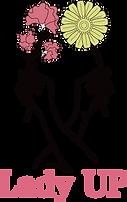Lady UP Logo縦.png