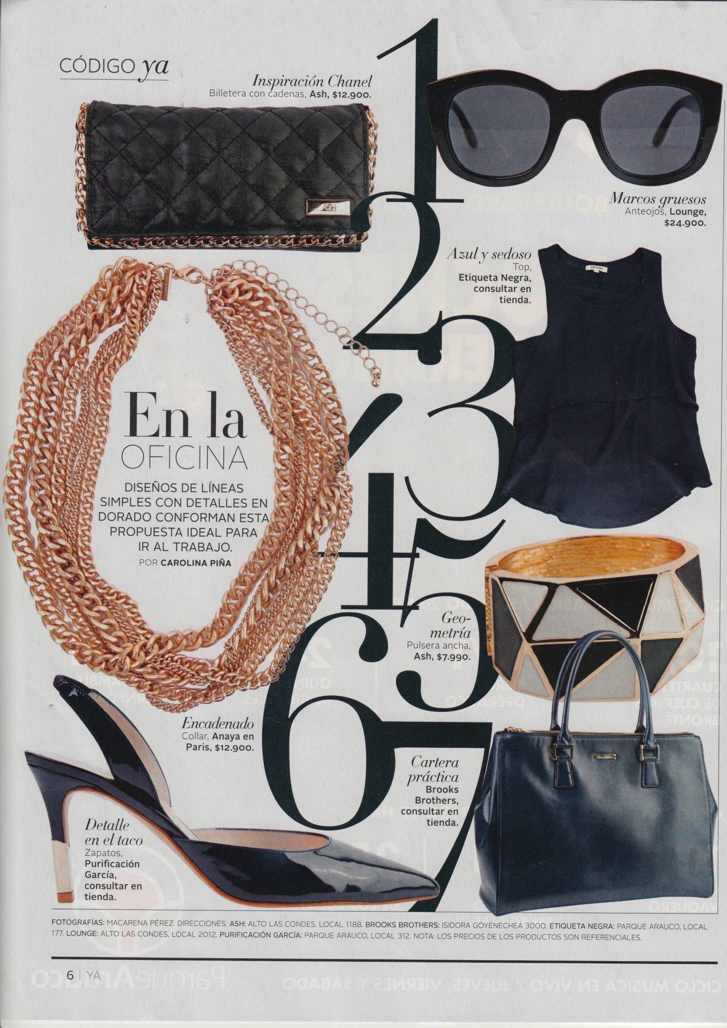 Revista Ya | Martes 13 de enero 2015