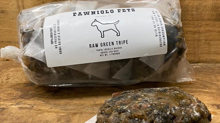 1# Raw Green Tripe Patties