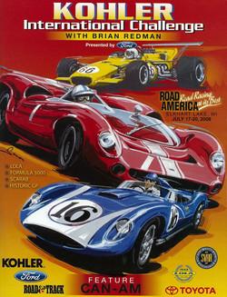 2008 Road America Poster