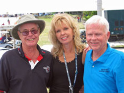 Augie, Linda and Don