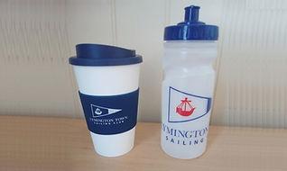 Landscape bottle & coffee cup