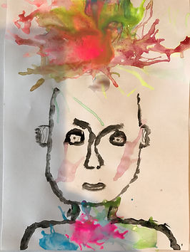 bussum, knutselen, juf son, jufson, cursus, kinderen, knutselen, tekenen, schilderen, creatieve ontwikkeling kinderen, kinderfeestjes, potret schilderen